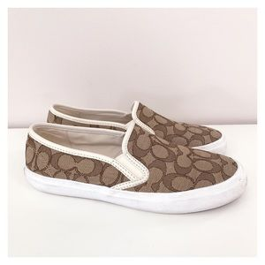Coach Chrissy Slip-On Loafer Sneakers